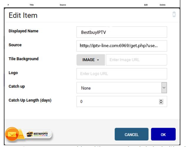SS IPTV Application Run